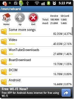 File Manager Data