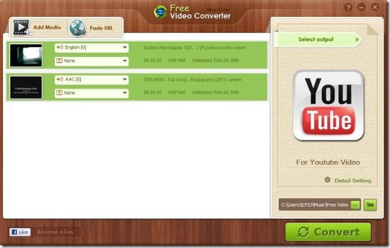 Free Video Converter 004