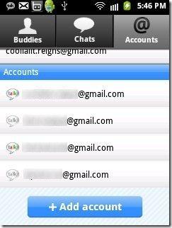 GTalk Multiple Accounts