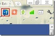Google Plus One Extension 002