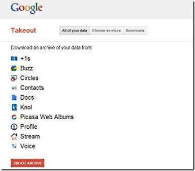 Google Takeout 001