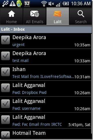 Hotmail App