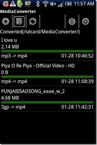 MP3 Media Converter App