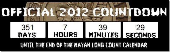 Mayan countdown clock 001