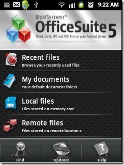 OfficeSuite Home Page