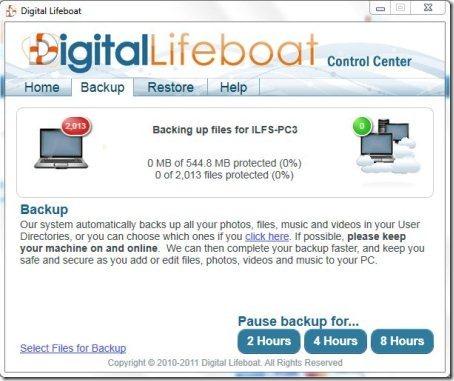 Online Backup Service 002