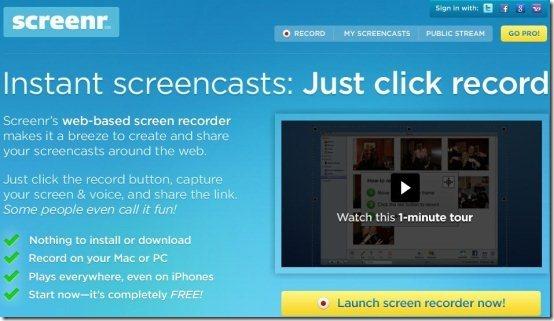 Online Screen Recorder 002