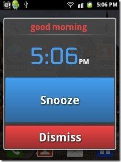 Talking Alarm Clock options