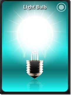 Tiny Flashlight App Bulb