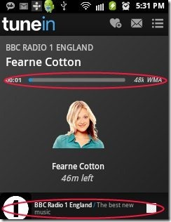 Tunein Radio Music Player