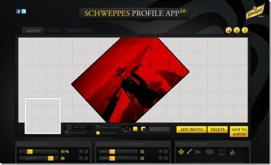 customize Facebook Profile 001
