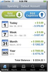 iPhone Expense Manager