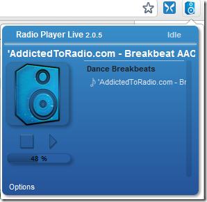 listen to radio radioplayer_interface
