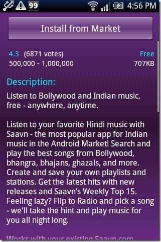 Android India App description