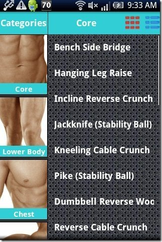 Body Exercise App