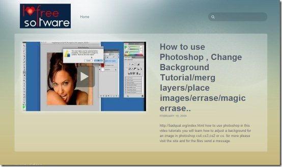 Create Video site 001