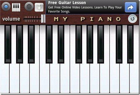 My Piano Keyboard