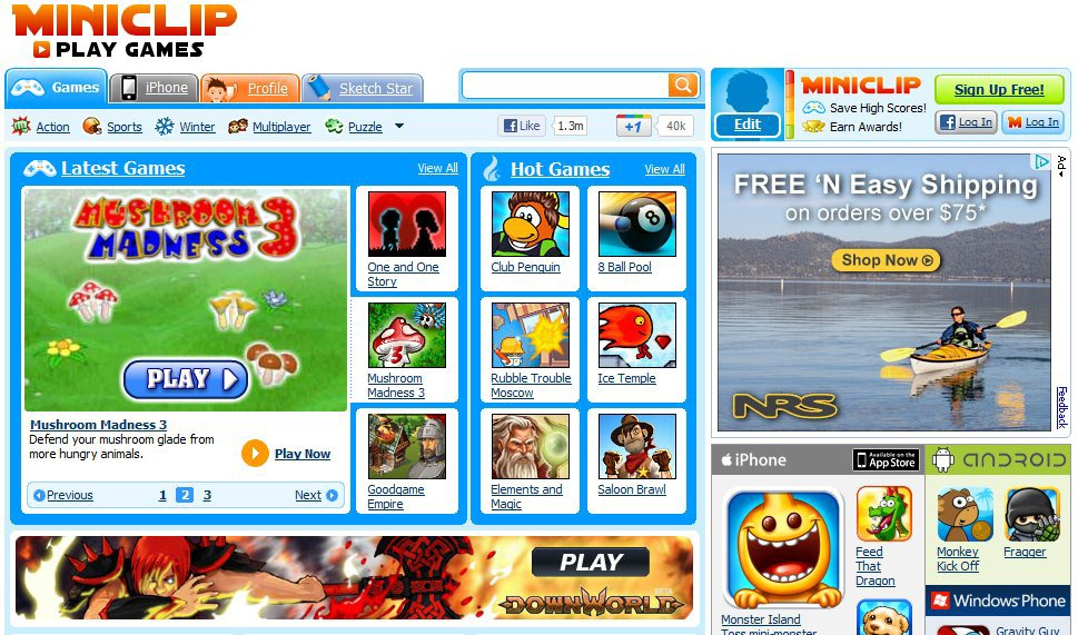 Play Online Games for Free with MiniClip