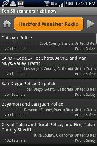Scanner Radio App: Listen To Police Radio Transmissions