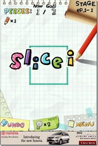 Slice It Pencil