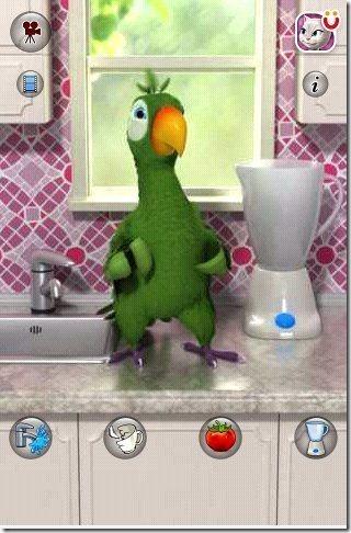 Talking Parrot App