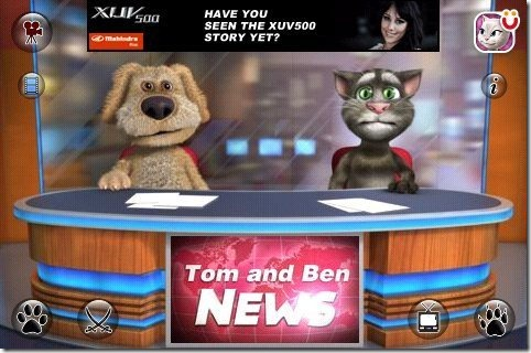 Talking Tom & Ben on News Desk