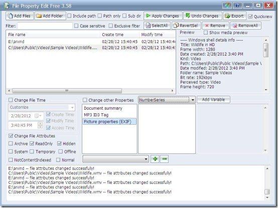 file property edit