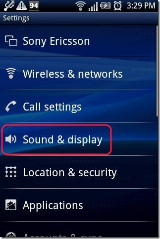 mp3 As Ringtone Android Sound option
