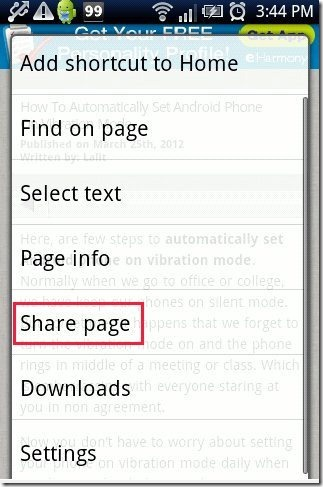 Text From Webpage Any Web Copy Share Page
