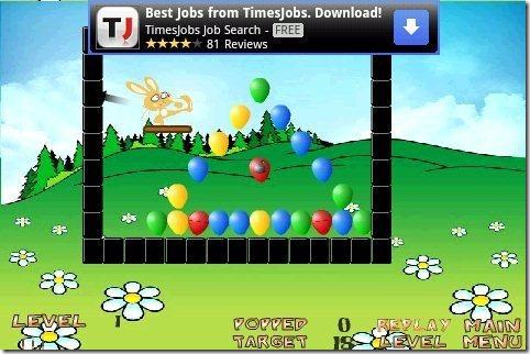 Bust Balloon Game