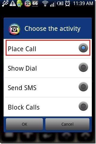 Call Schedule App Option