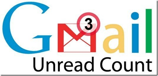 Gmail Unread Mail Counts process