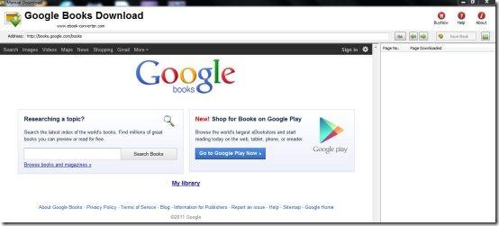 Google Books Download