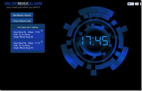Online Music Alarm 001