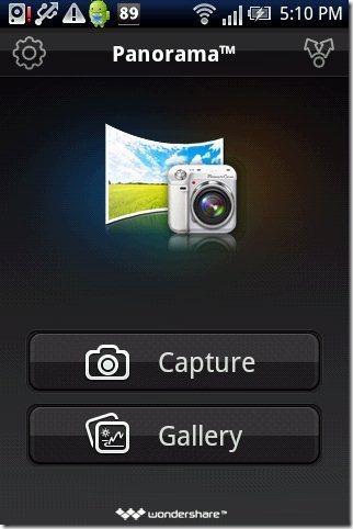 Panorama App Interface