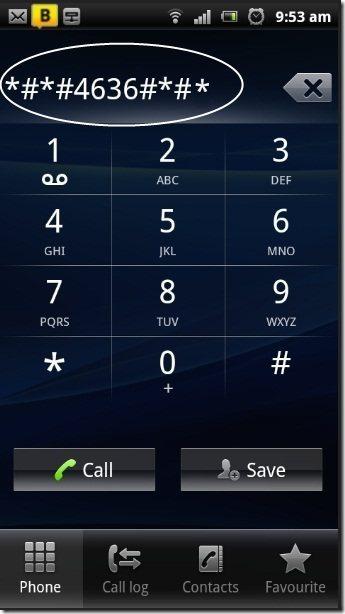 Sony Ericsson Dialer SMS Center