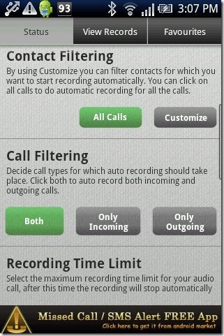 The Call Recorder App