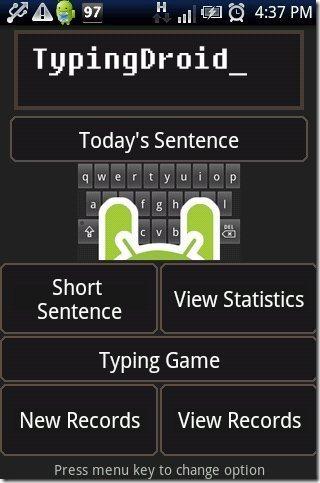 Typing Tutorial App