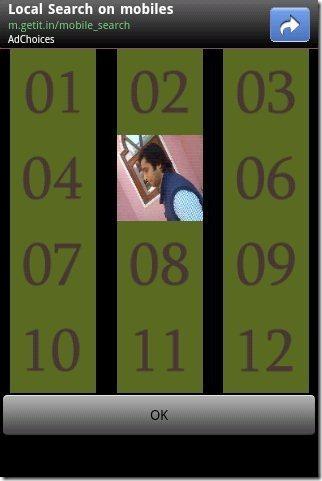 Wall Calendar Widget Background option