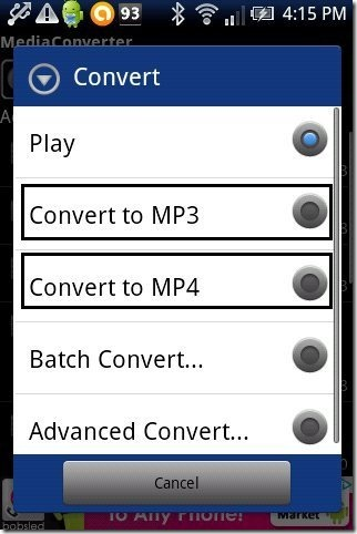 How To Convert Video to MP3, MP4 On Android