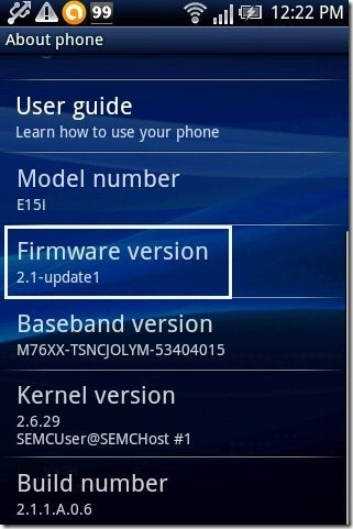 FirmWare Version