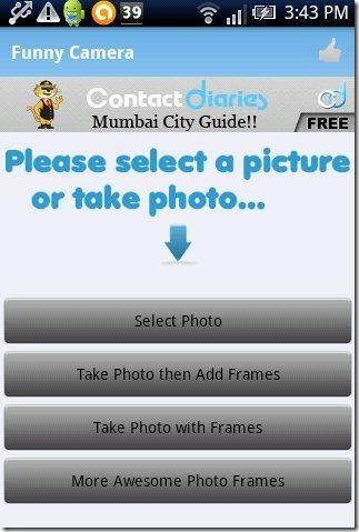 Funny Camera App