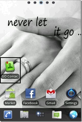 Go Contacts icon