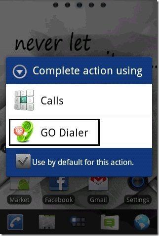 Go Dialer