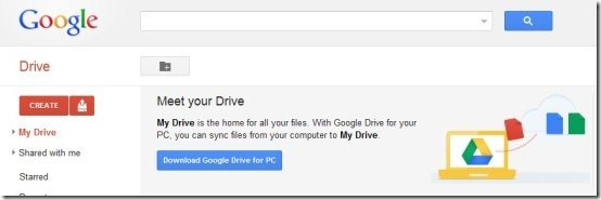Google Drive Interface