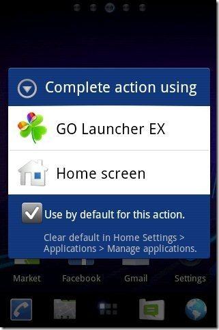 Launcher Applying