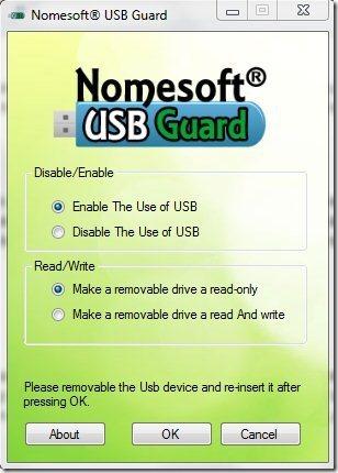 NomeSoft USB Guard