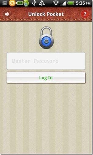 Pocket Password