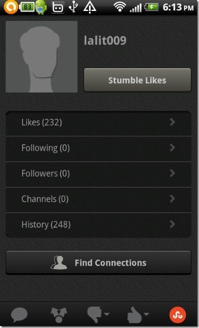 StumbleUpon Profile