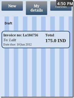 Andinvoice Home Page